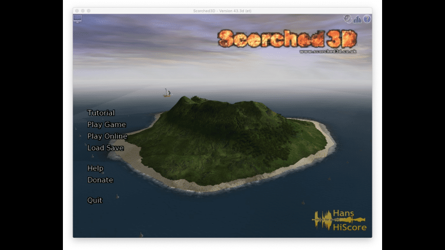 Scorched 3D for Mac - review, screenshots