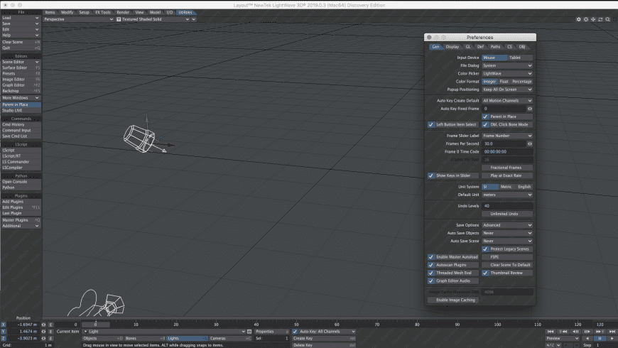 LightWave 3D for Mac - review, screenshots