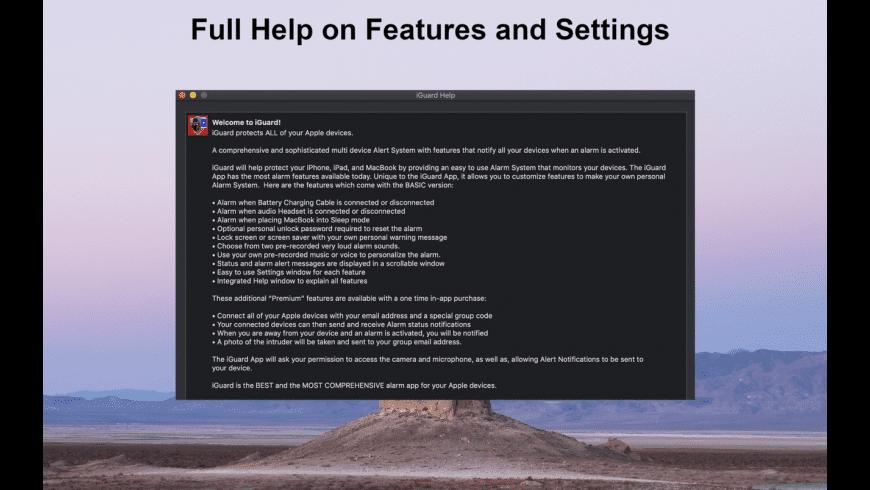 iGuard for Mac - review, screenshots