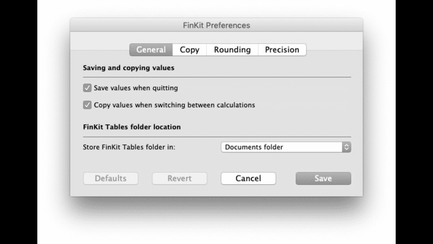 FinKit for Mac - review, screenshots