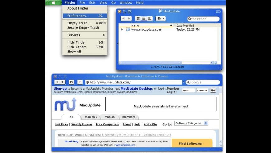 Mac OS XP for Mac - review, screenshots