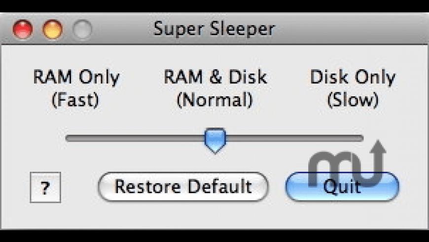 Super Sleeper for Mac - review, screenshots