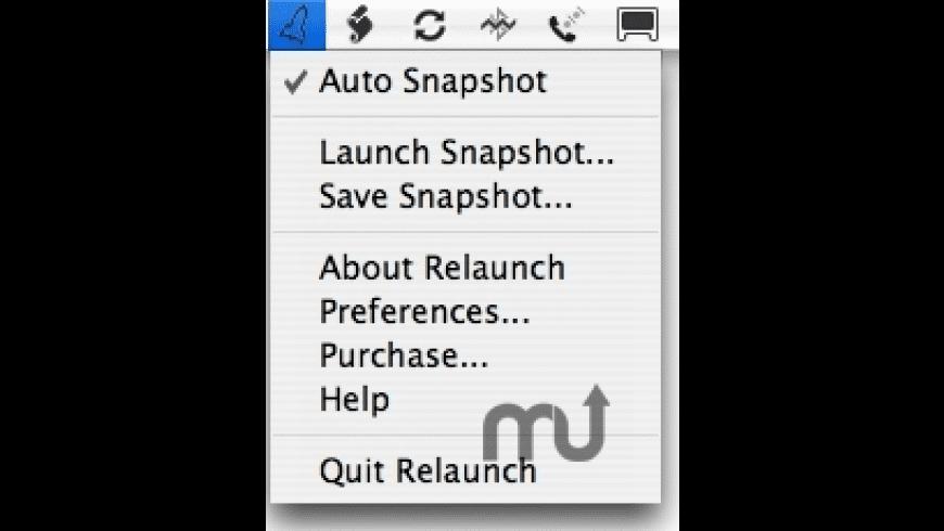Relaunch for Mac - review, screenshots