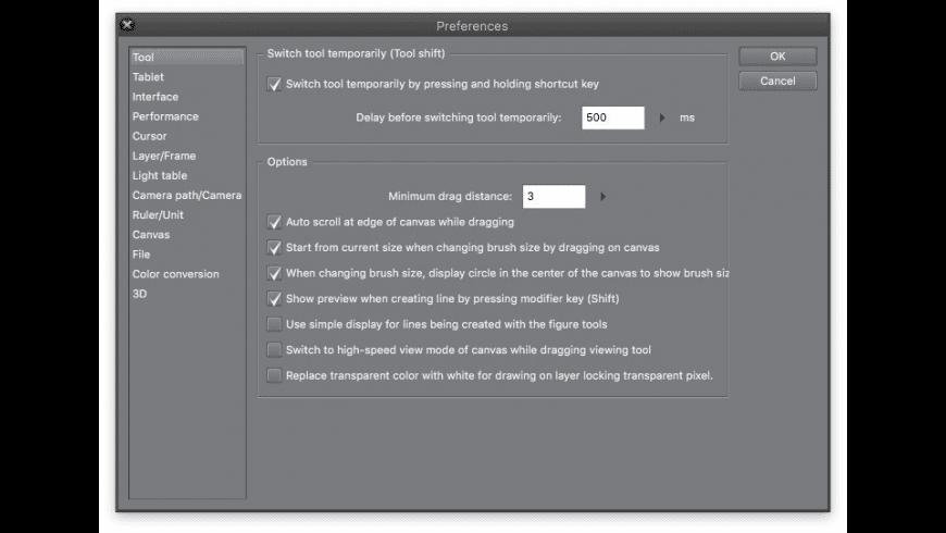 Clip Studio Paint for Mac - review, screenshots