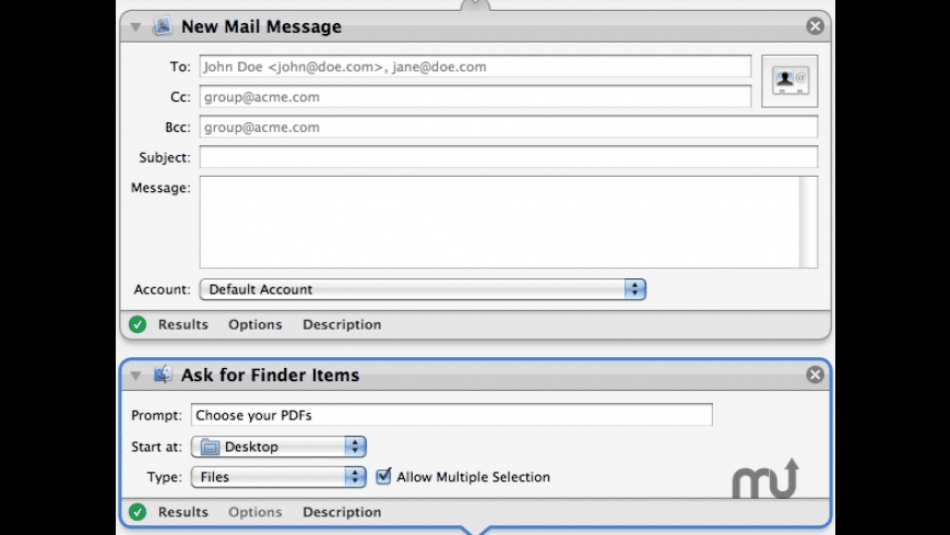 Combine & Mail for Mac - review, screenshots