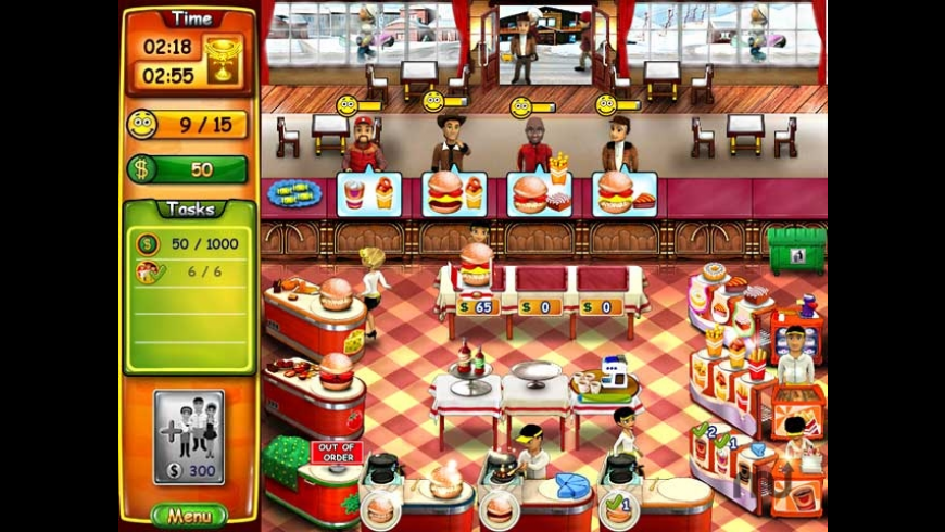 Burger Bustle for Mac - review, screenshots