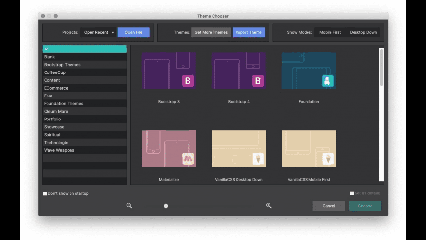 CoffeeCup Site Designer for Mac - review, screenshots