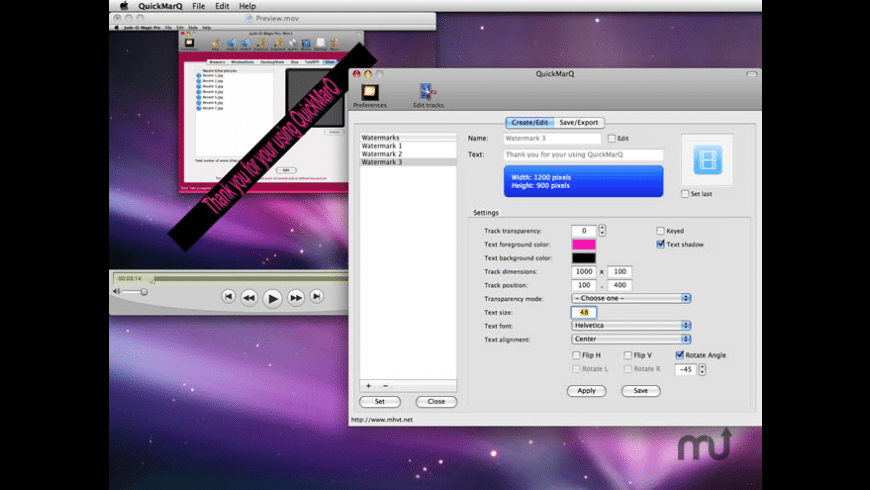 QuickMarQ for Mac - review, screenshots