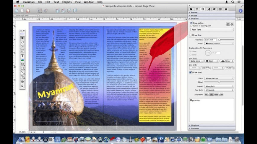 iCalamus for Mac - review, screenshots