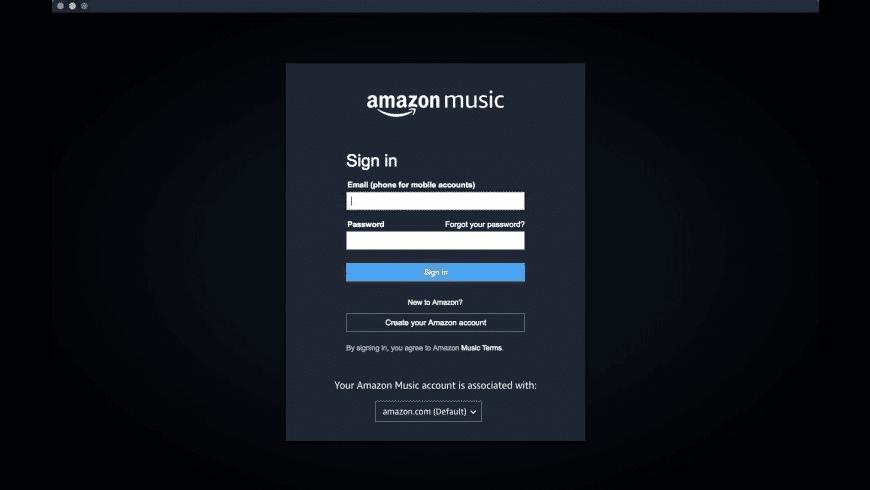 Amazon Music for Mac - review, screenshots