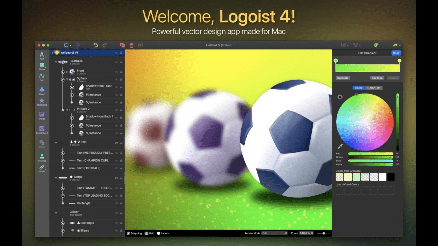 Logoist for Mac - review, screenshots