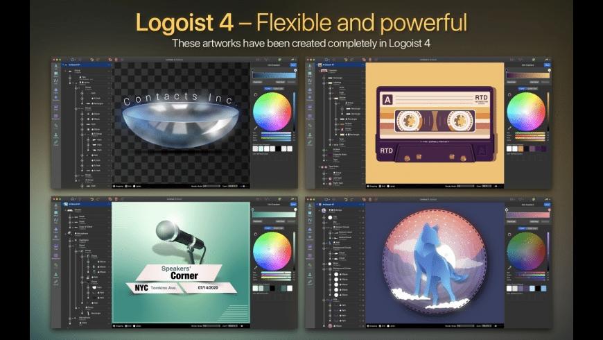 Logoist for Mac - review, screenshots