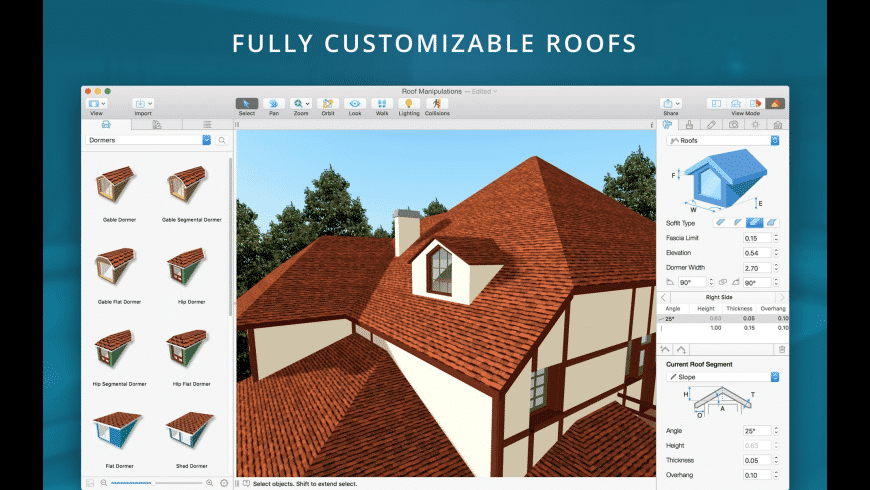 Live Home 3D Pro for Mac - review, screenshots