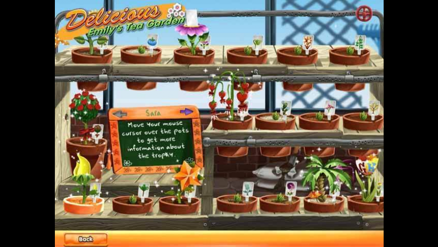 Delicious: Emily's Tea Garden for Mac - review, screenshots