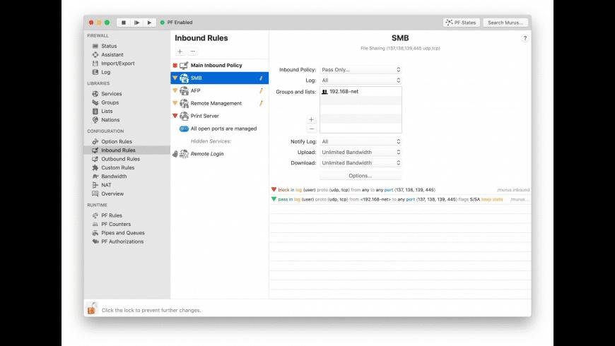 Murus Basic for Mac - review, screenshots