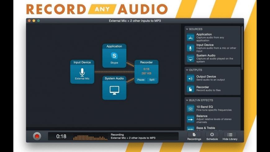Audio Hijack for Mac - review, screenshots