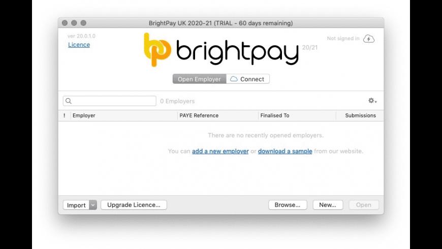 BrightPay UK for Mac - review, screenshots