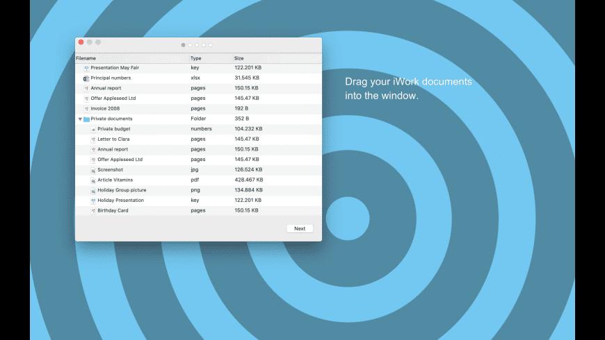 Docxtor for Mac - review, screenshots