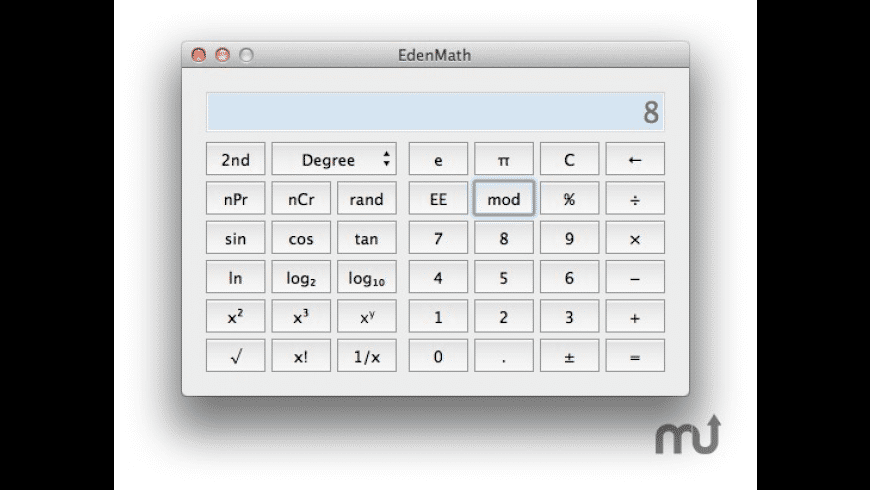 EdenMath for Mac - review, screenshots