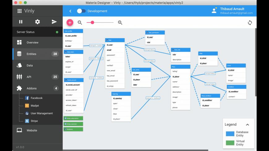 Materia Designer for Mac - review, screenshots