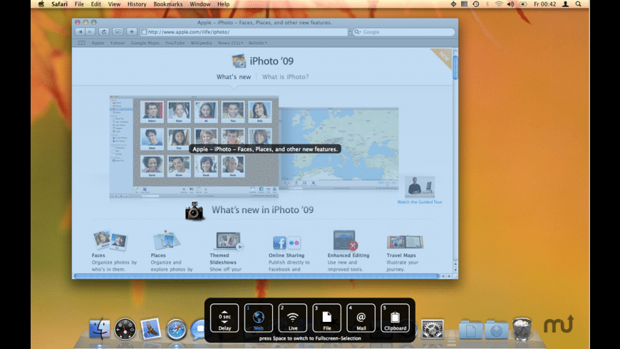 Snapplr for Mac - review, screenshots