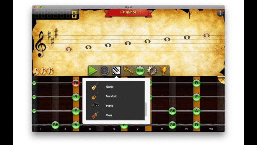 Mozart 2 Pro for Mac - review, screenshots