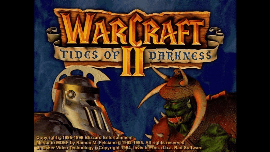 Warcraft II: Tides of Darkness for Mac - review, screenshots