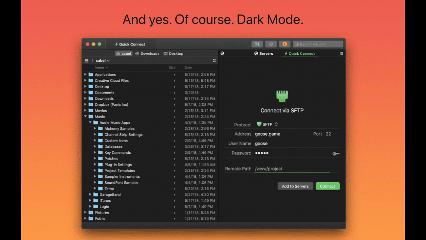 Transmit for Mac - review, screenshots