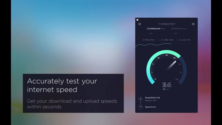 Speedtest for Mac - review, screenshots