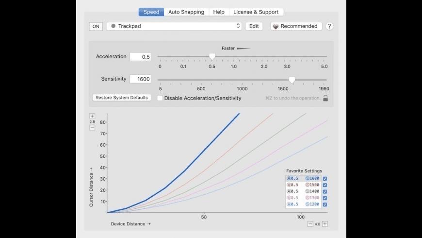 CursorSense for Mac - review, screenshots
