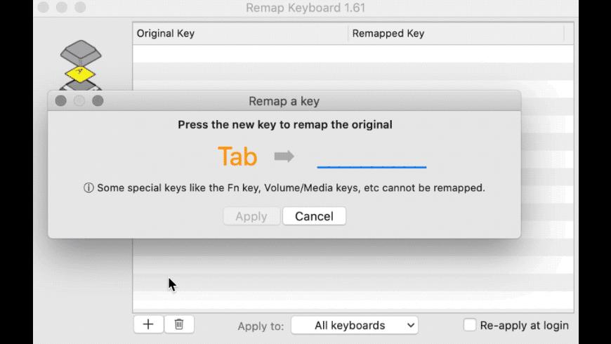Remap Keyboard for Mac - review, screenshots