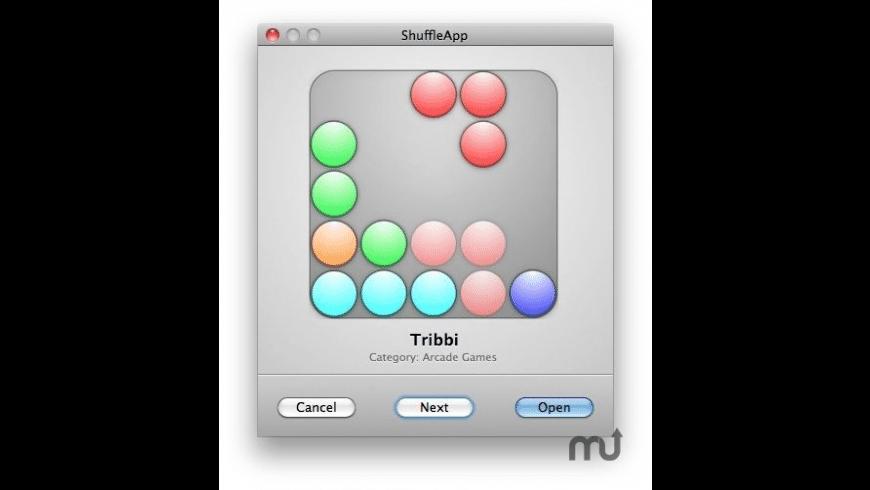 ShuffleApp for Mac - review, screenshots