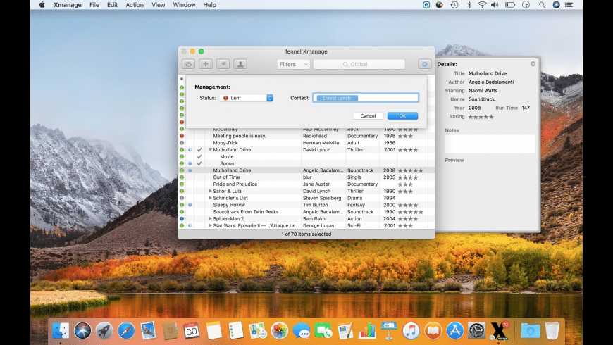 Xmanage for Mac - review, screenshots