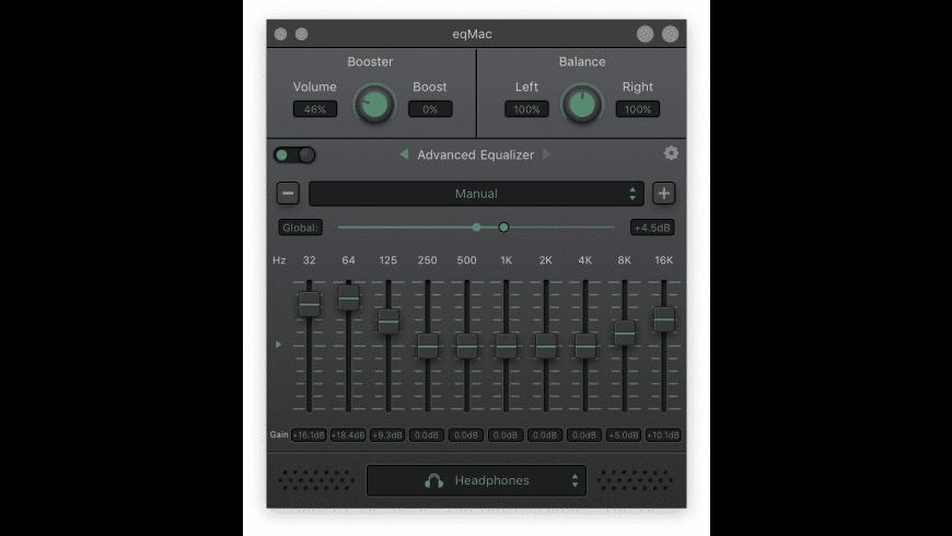 eqMac for Mac - review, screenshots