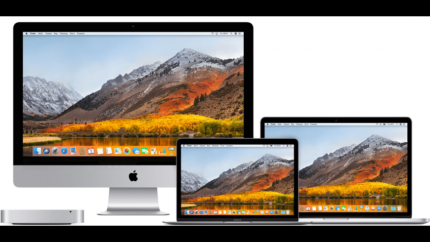 macOS High Sierra for Mac - review, screenshots