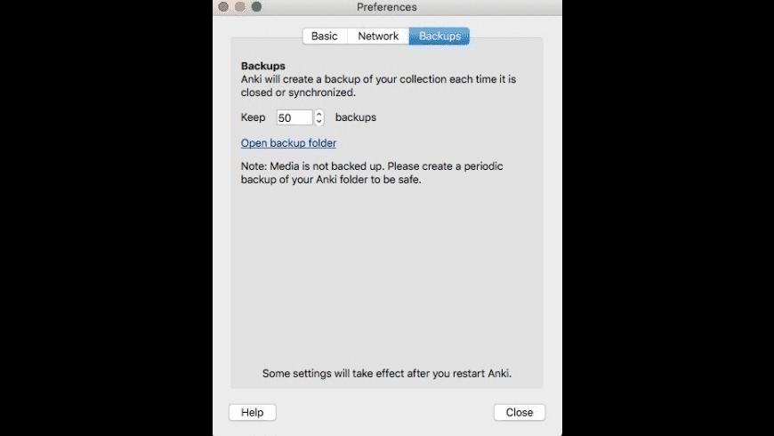 Anki for Mac - review, screenshots