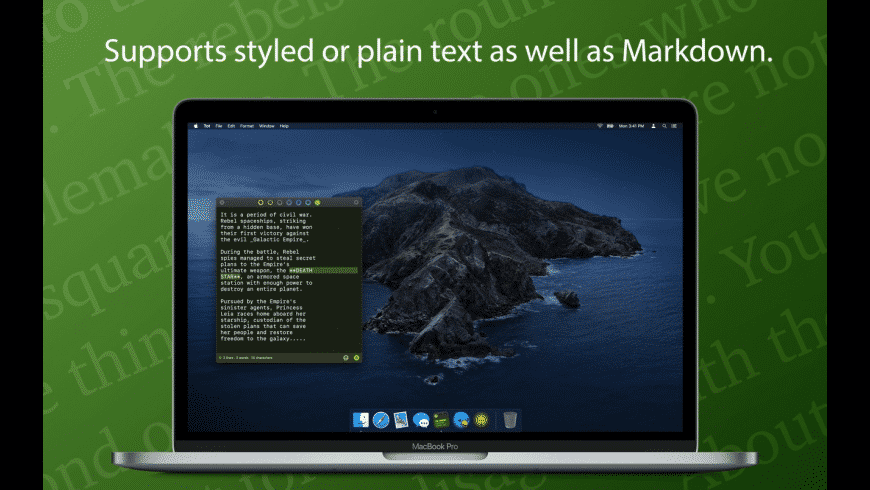 Tot for Mac - review, screenshots