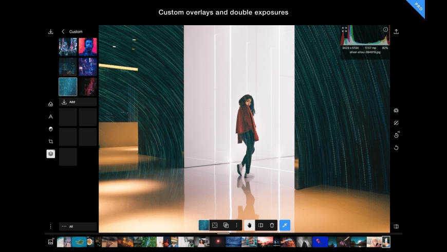 Polarr Photo Editor for Mac - review, screenshots