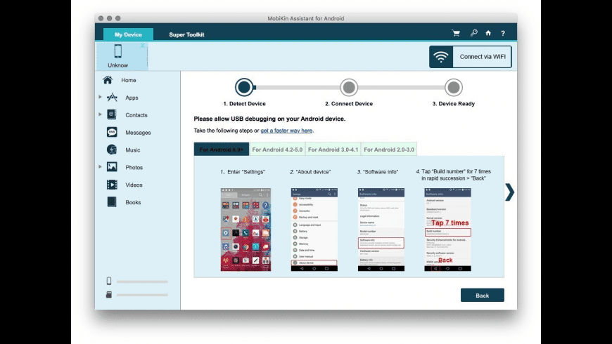 MobiKin Assistant for Android for Mac - review, screenshots