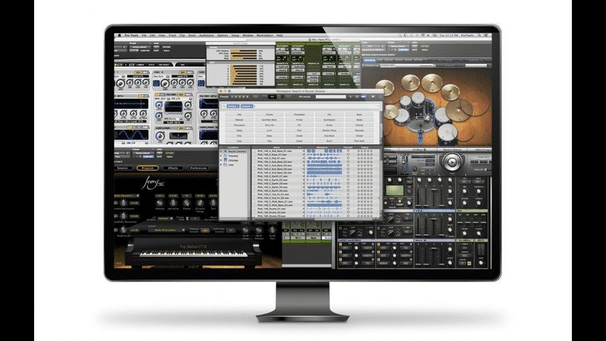 Pro Tools for Mac - review, screenshots