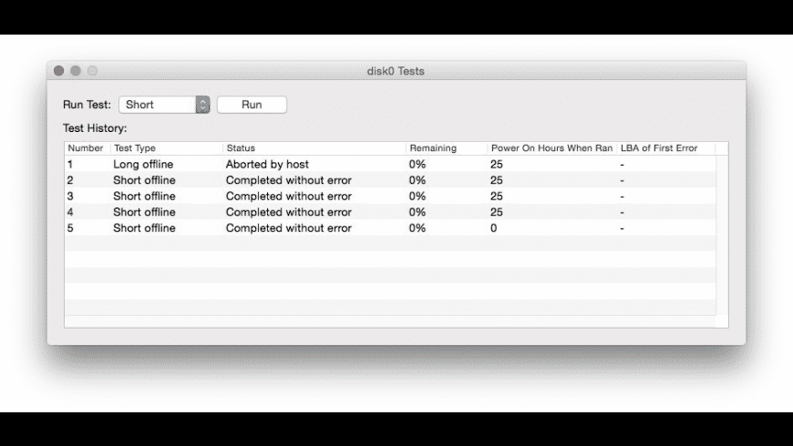 SMART Utility for Mac - review, screenshots