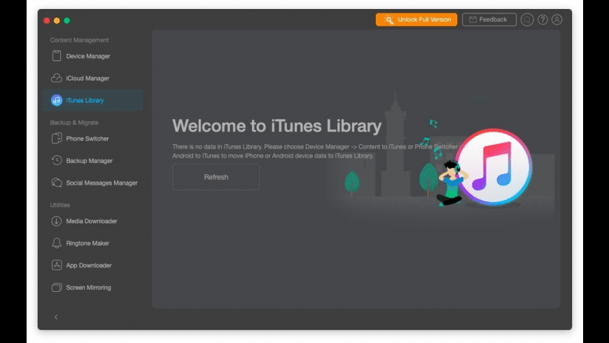 AnyTrans for Mac - review, screenshots