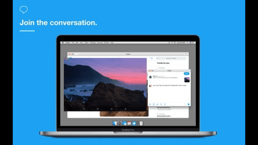 Twitter for Mac - review, screenshots