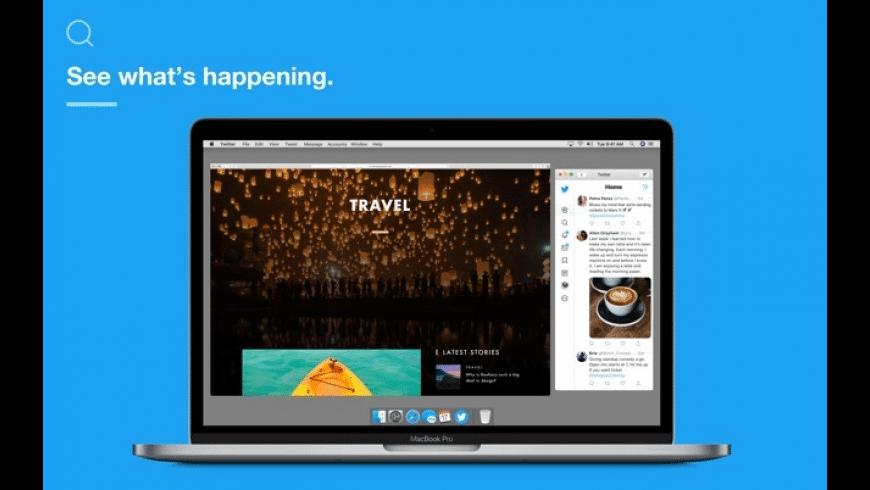 Twitter for Mac - review, screenshots