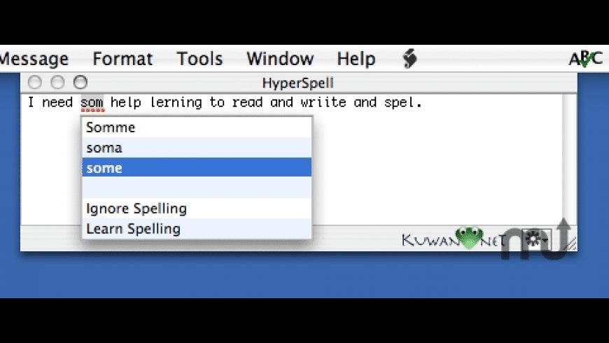 HyperSpell for Mac - review, screenshots