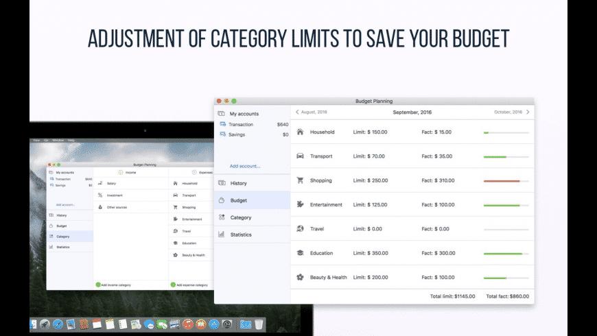 Budget Planning for Mac - review, screenshots