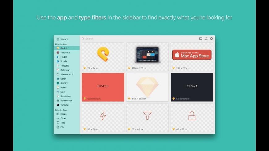 Pasta for Mac - review, screenshots