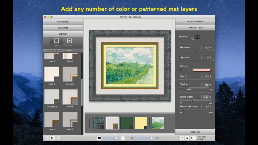 ImageFramer Lite for Mac - review, screenshots