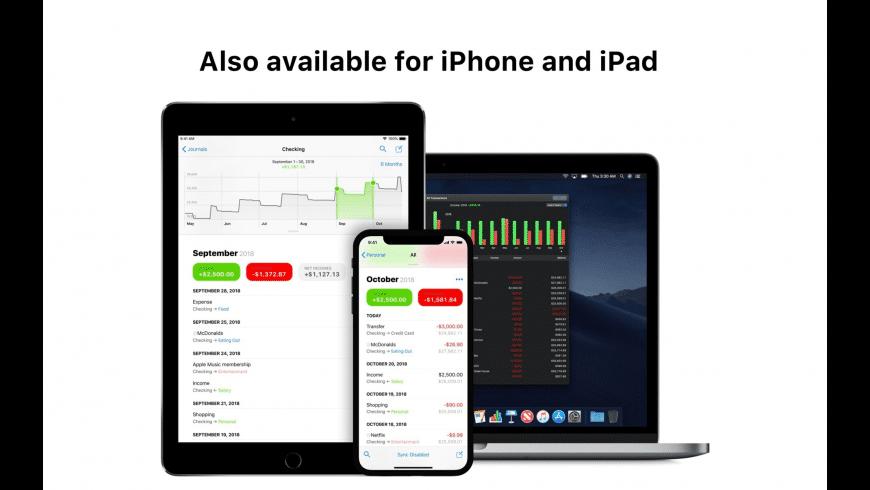 Finances for Mac - review, screenshots