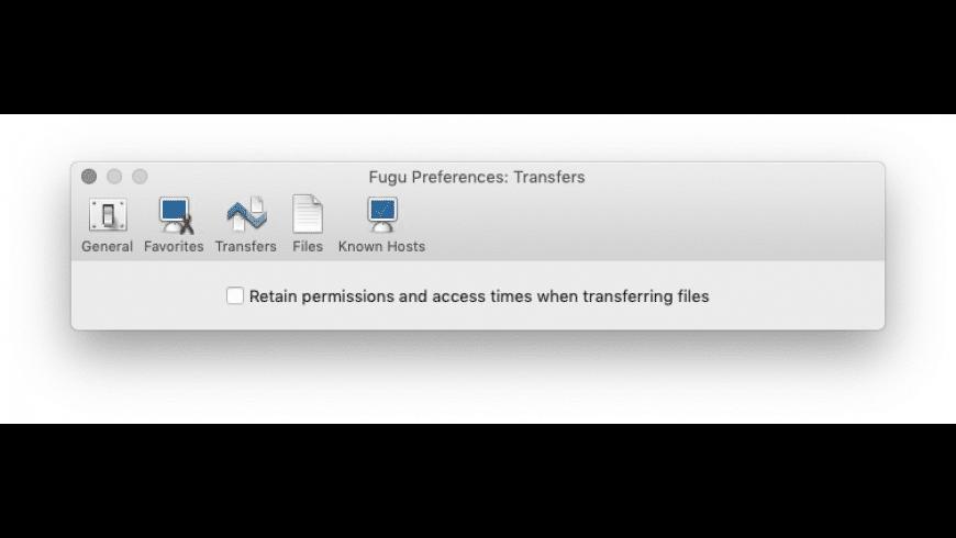 Fugu for Mac - review, screenshots